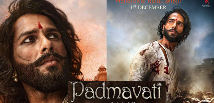 Shahid Kapoor in Padmavati Movie look