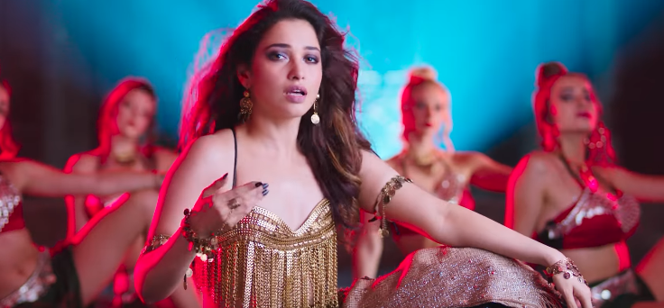 Swing zara tamannaah song steps images