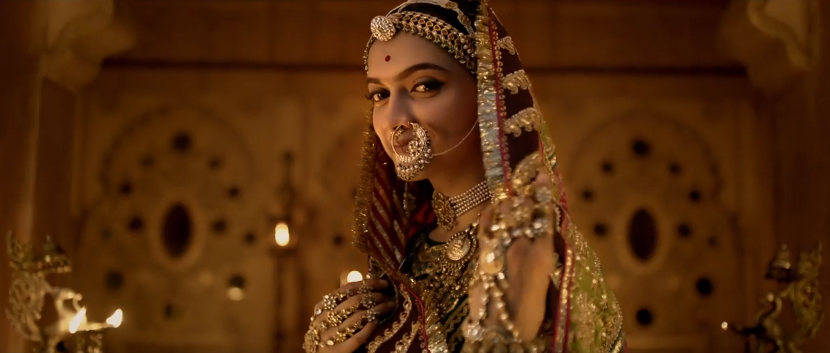 Deepika padukone in Padmavati movie trailer-1
