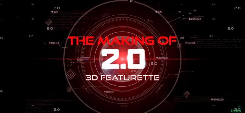 Making of Rajinikanth Robo 2.0 3d features