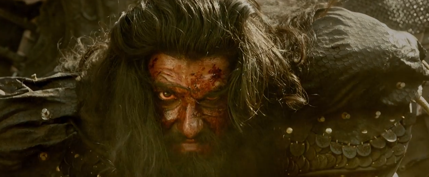 Ranveer singh as Alauddin khilji deadly look in padmavati movie trailer