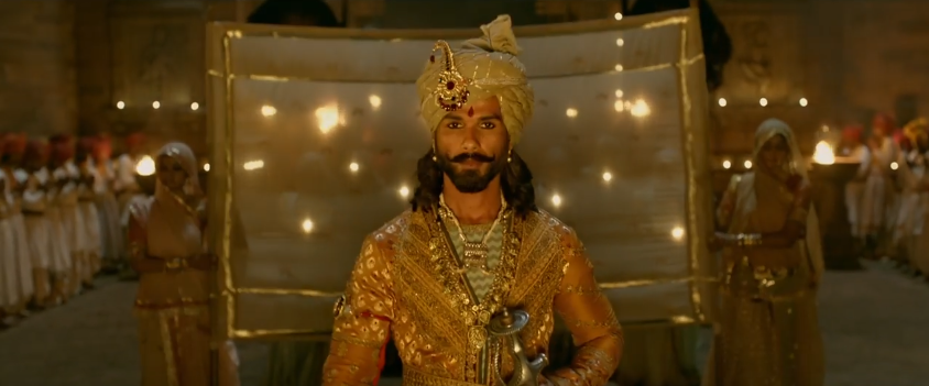 Shahid Kapoor in Padmavati movie trailer