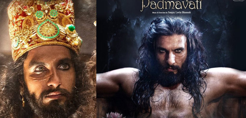 Sultan Alauddin Khilji look Ranveer Singh Padmavati Movie Scary Look With Scars