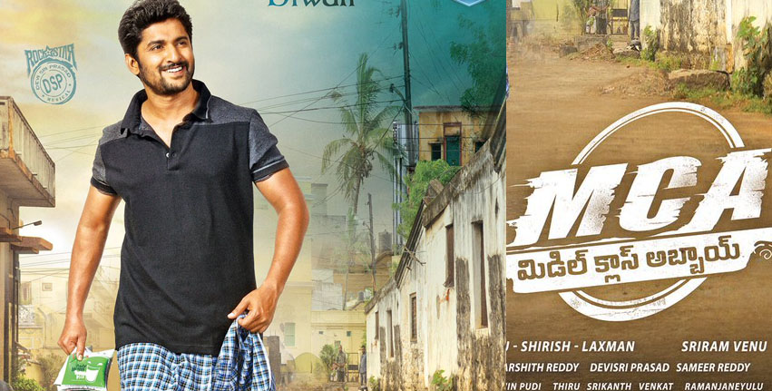 mca naani first look middle class abbai