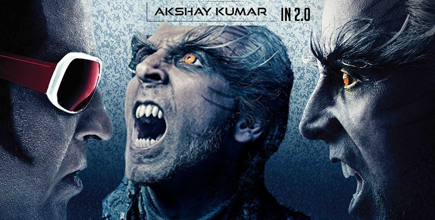 Akshay Kumar in 2.0 with deadly beast look