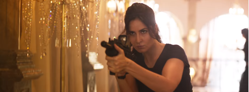 Katrina kaif in tiger zinda hai in action