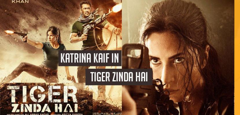 Katrina kaif in tiger zinda hai movie