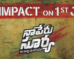 1st Look and First Impact of Allu Arjun Na Peru Surya Na Illu India NSNI Star Cast and Release