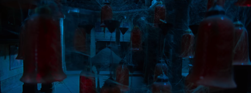 Anushka shetty Bhaagamathie movie lamps in teaser