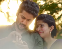 Mca first look Romantic scenes between nani and Sai Pallavi