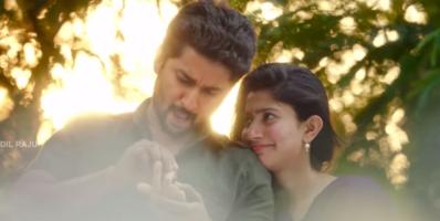 Mca first look Romantic scenes between nani and Sai Pallavi