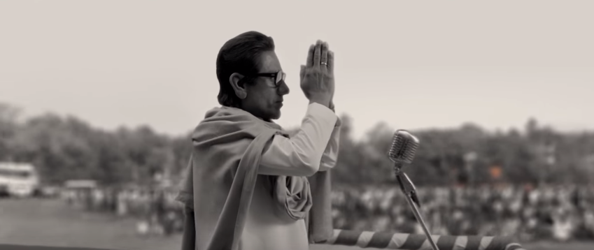 Nawazuddin as Bal Thackeray bio pic