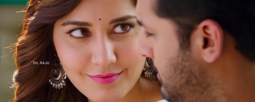 Raashi khanna cute looks in Srinivasa Kalyanam movie