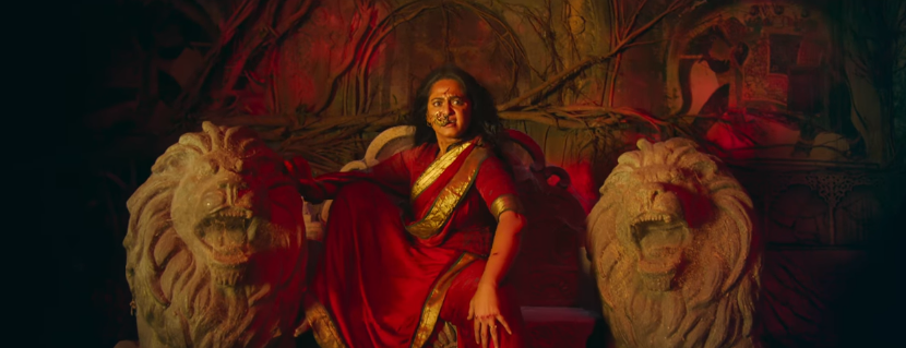 Anushka shetty as bhaagamathie in movie