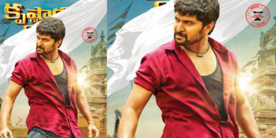 Krishnarjuna Yudham Nani First Look