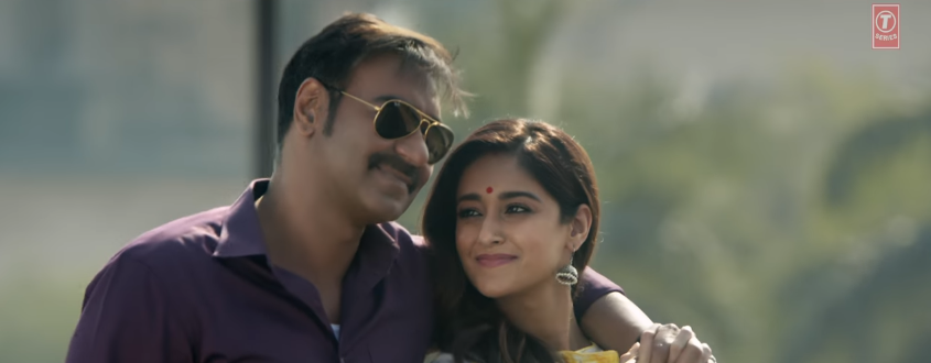 Ajay devgn and Ileana dcruz in raid movie