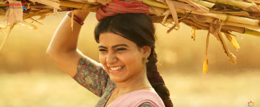 Rangasthalam movie samantha smile