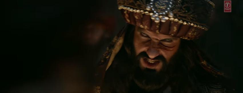 Ranveer singh Khalibali scary