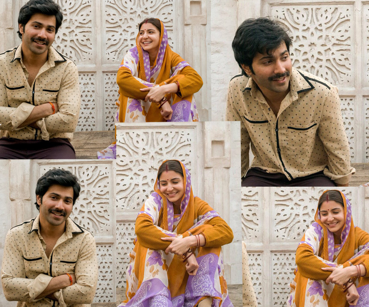 Sui Dhaaga movie varun and Anushka look