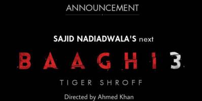 Tiger Shroff Bhaagi 3 movie