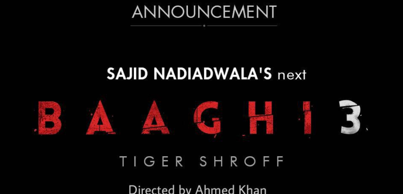 Tiger Shroff Bhaagi 3 movie
