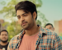 Varun tej in tholi prema movie