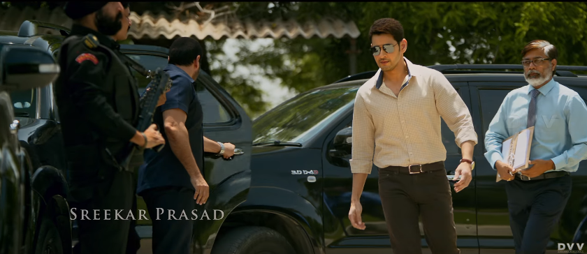 Mahesh babu as cm in bharat ane nenu