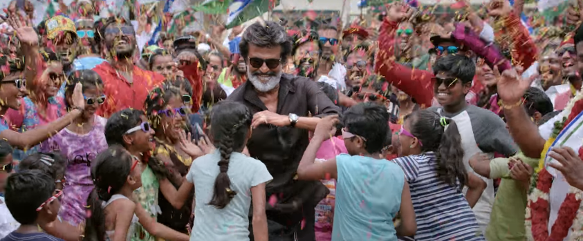 Rajinikanth in kaala movie dances