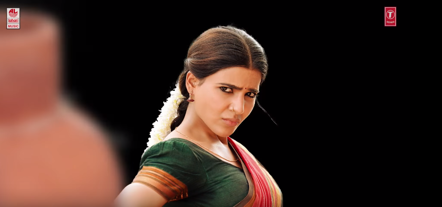 Samantha in Rangamma mangamma song