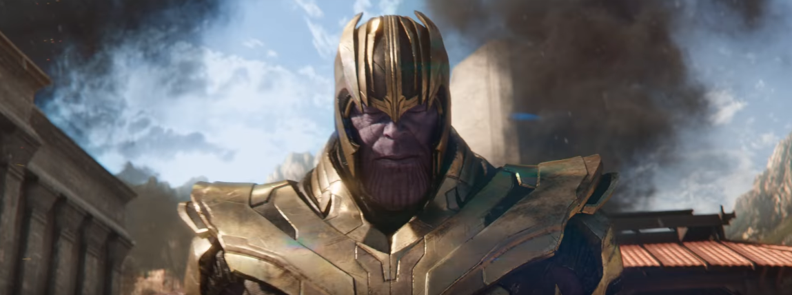 Thanos in avengers infinity war look