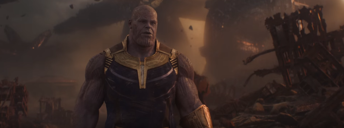 Thanos in avengers infinity war trailer look