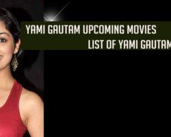 Yami Gautam upcoming movies