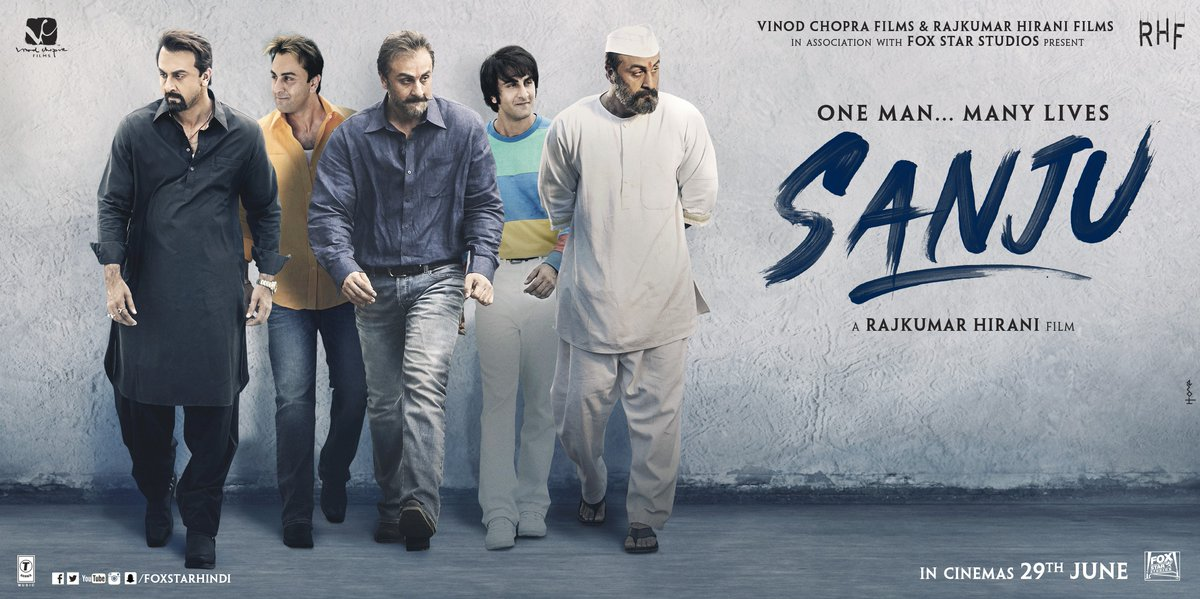 Sanjay dutt biopic movie poster