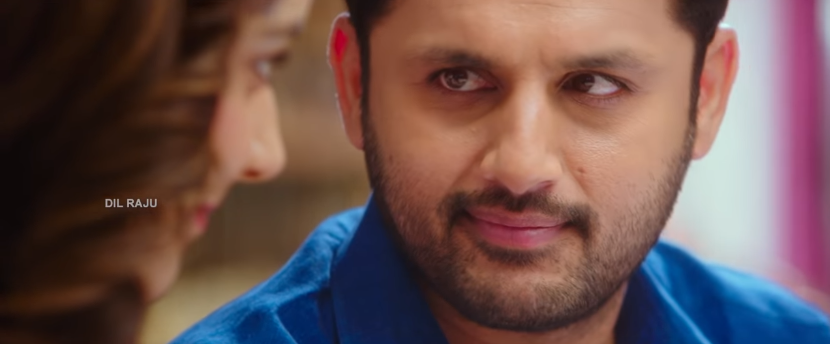 Nithin in Srinivasa Kalyanam cute looks at raashi khanna