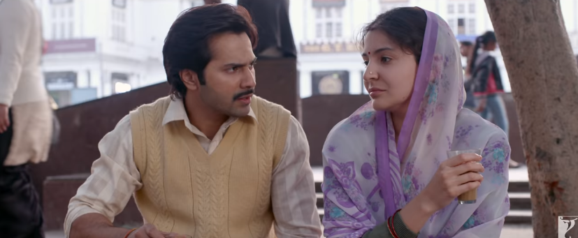 varun dhawan and anushka sharma in sui dhaaga movie