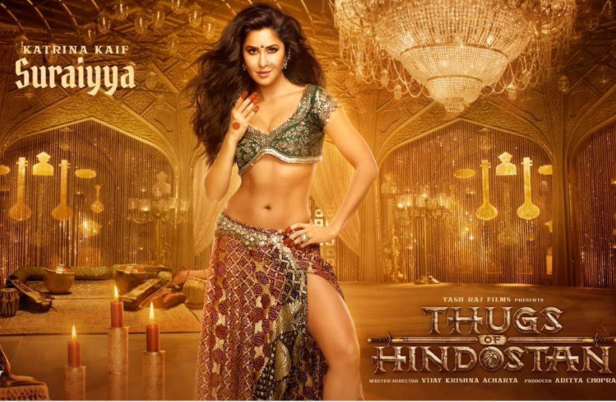 `2018 Katrina kaif look in thugs of hindostan