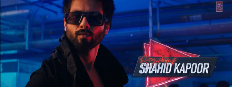 Shahid Kapoor in urvashi urvashi song