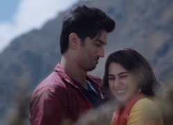 Sara ali khan and sushant sing in kedarnath movie