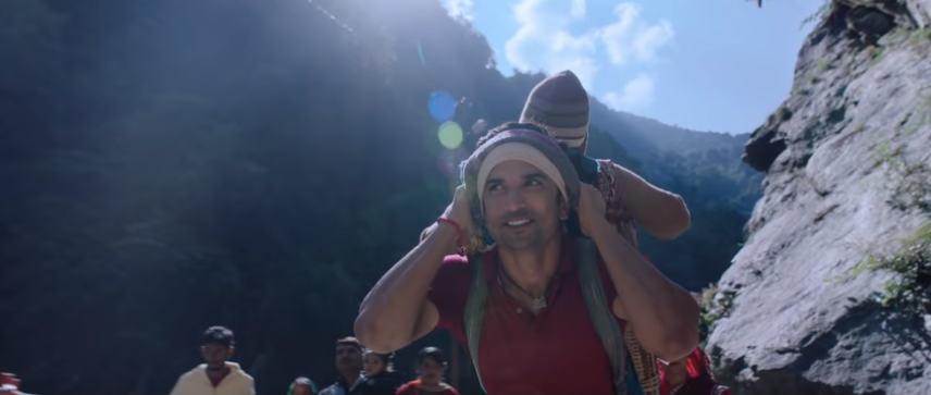 Sushant singh rajput as pithu in kedarnath movie