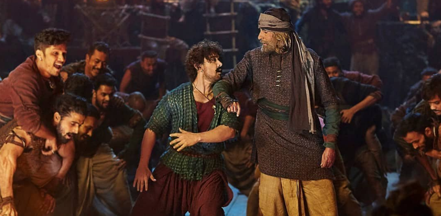 Thugs of hindostan movie vashmalle song aamir and amitabh bachchan